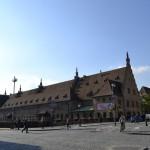 Een van de eerste gebouwen in het oude stadscentrum