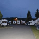 De parkeerplaats in Dudelange