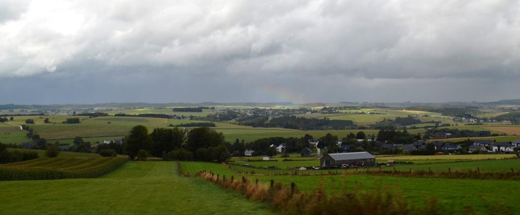 De mooie landerije van Luxemburg en de laaste foto van de reis